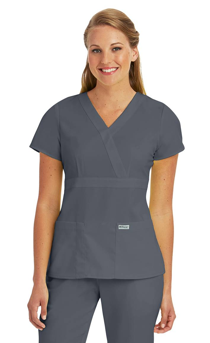 Buy Grey's Anatomy Active Women's Side Panel V-Neck Solid Scrub: Shop top fashion brands Scrub Tops at tommudselb.tk FREE DELIVERY and Returns possible on eligible purchases.