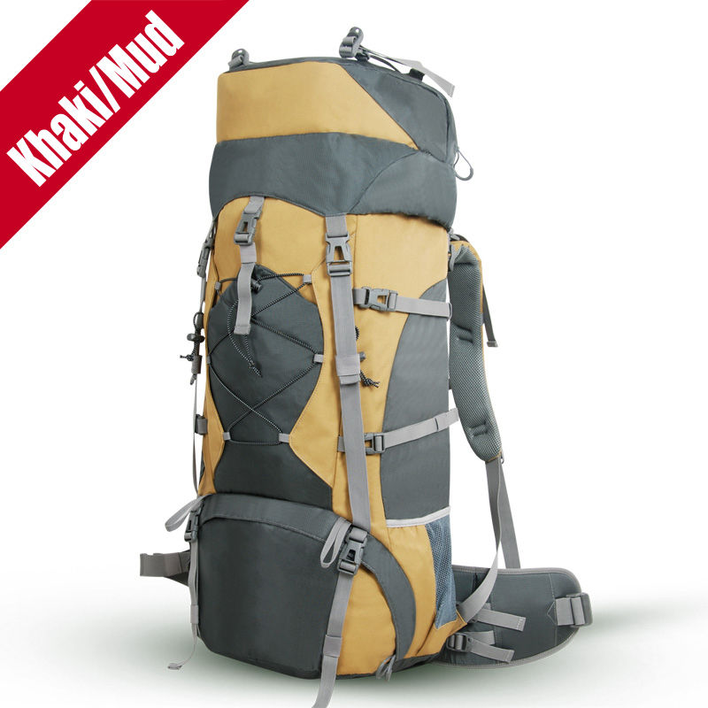 tonpar 70l climbing camping hiking backpack external frame - External Frame Hiking Backpack