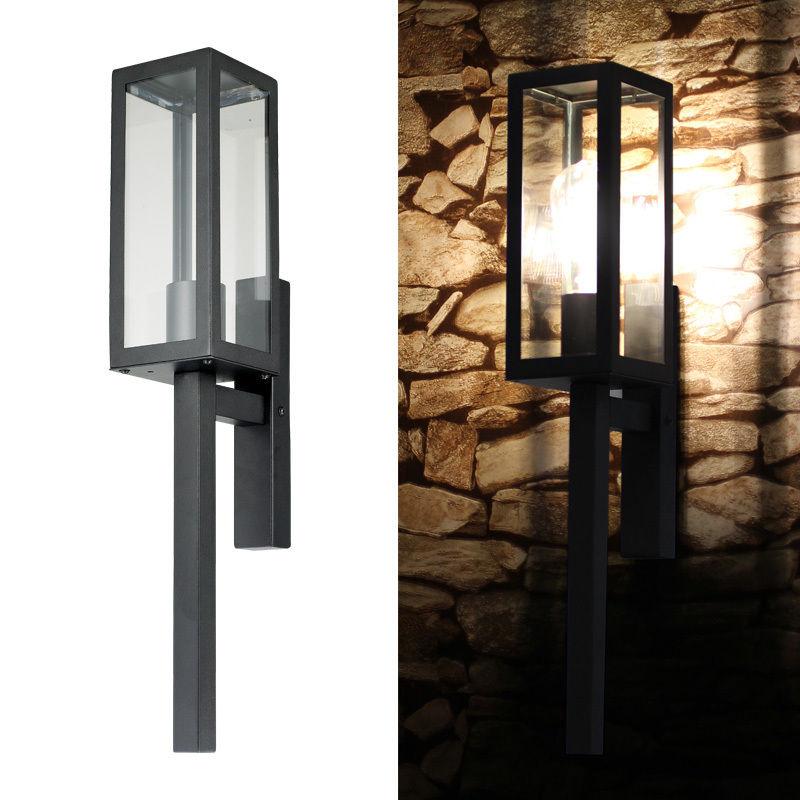 Luxury Exterior Wall Lights : Designer Contemporary Exterior Wall Light Weatherproof Door Side
