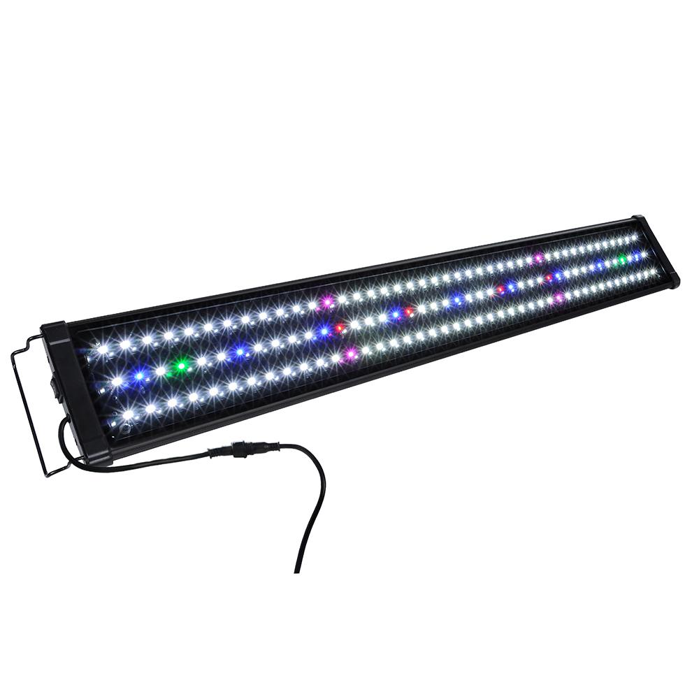 Led aquarium light full spectrum lighting aqua plant for Fish lamp aquarium