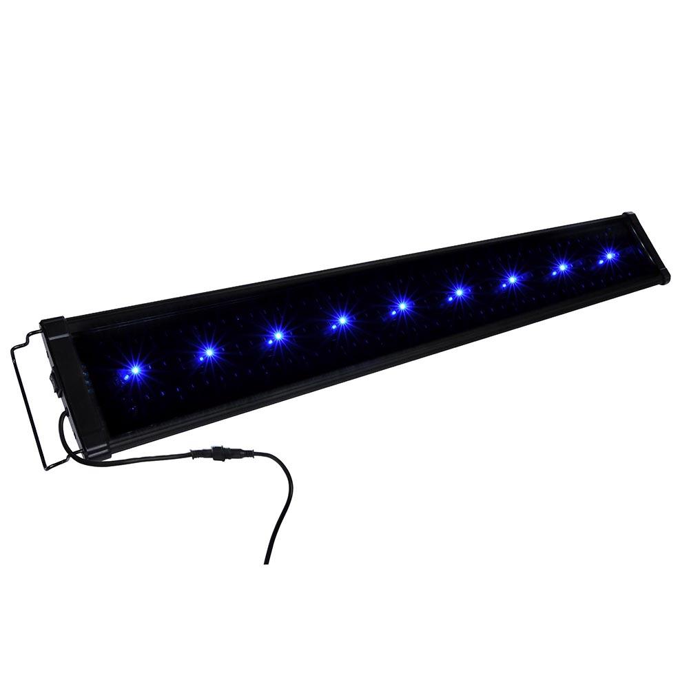 60 90 116cm aquarium led light lighting full spectrum aqua for Fish tank lamp