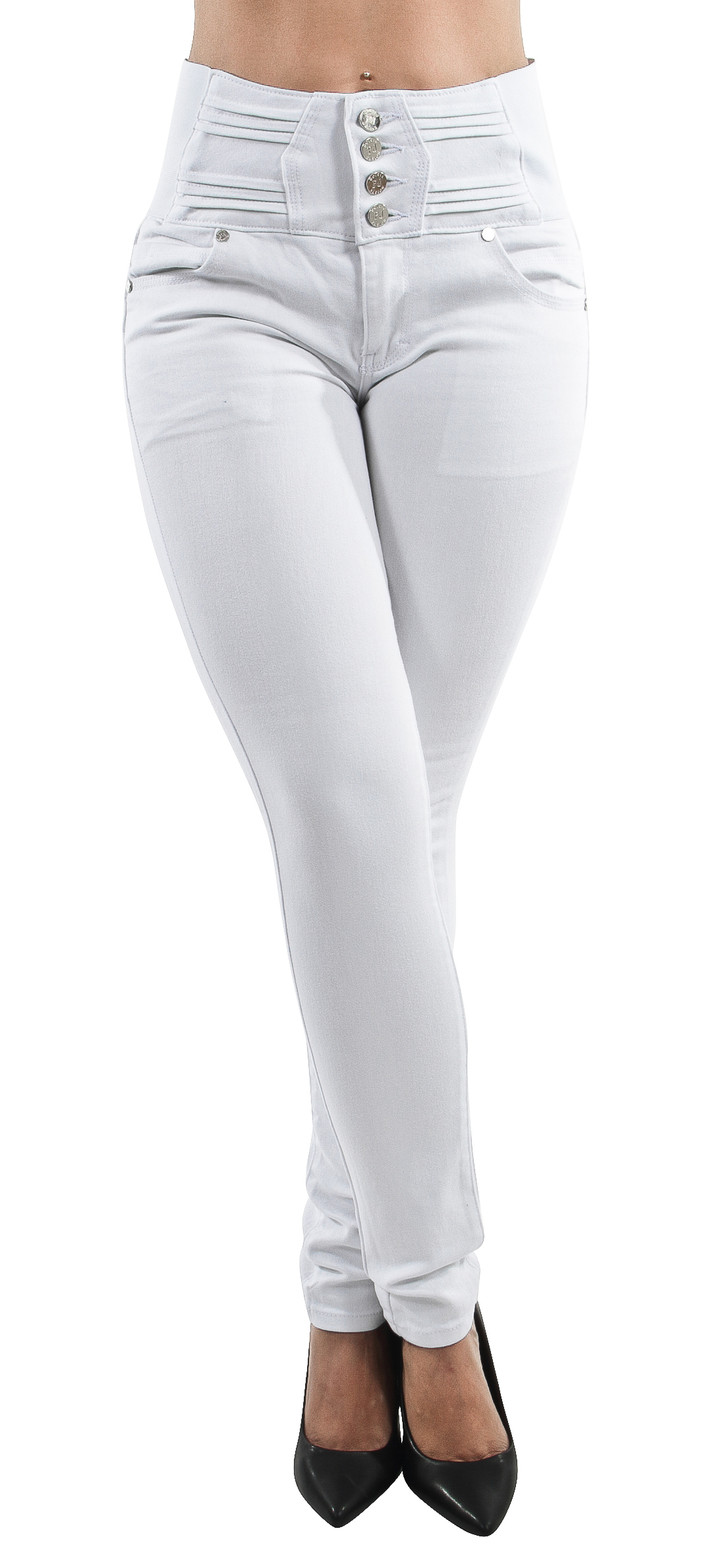 Butt Lift Women/'s Juniors Skinny Jeans Push Up Elastic High Waist