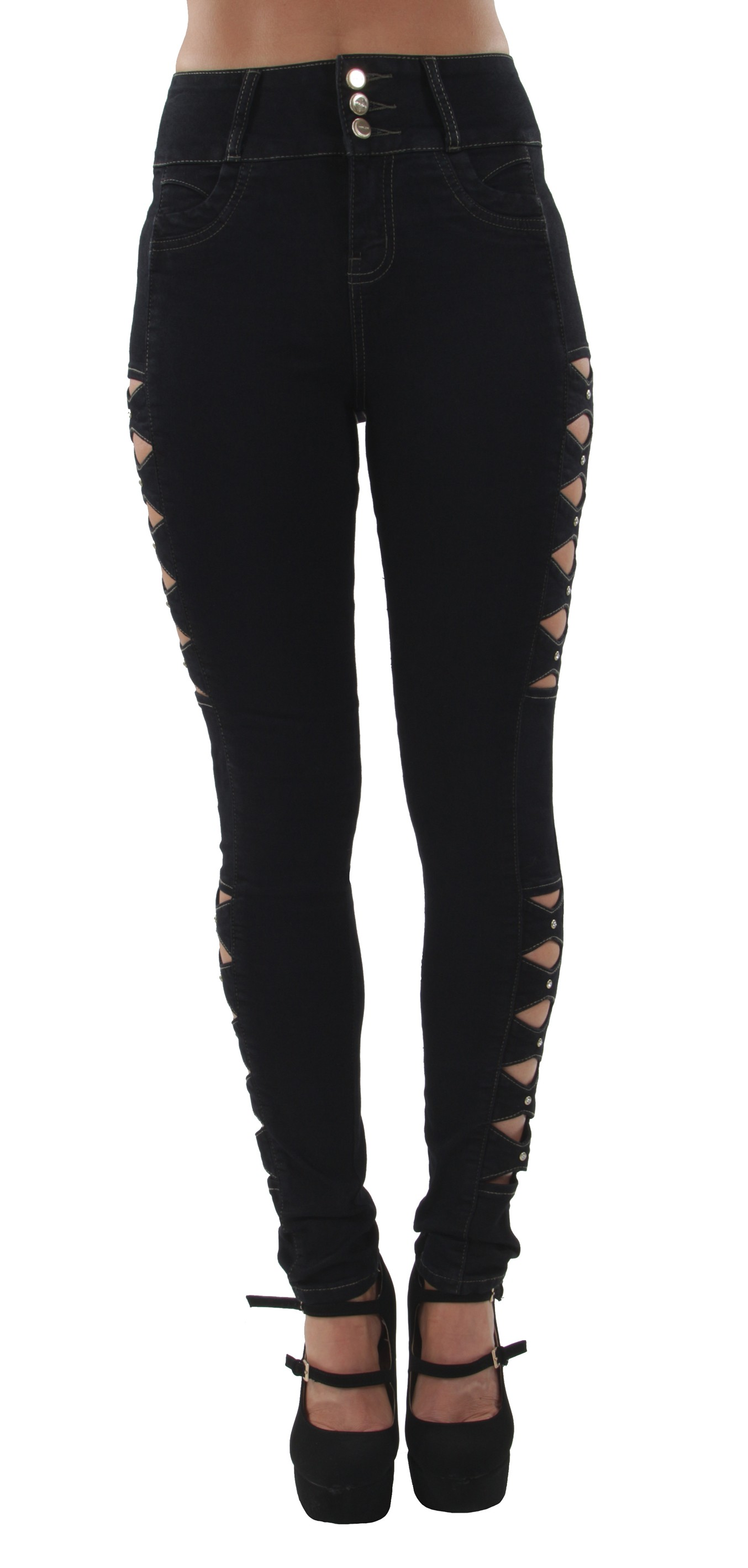 Butt Lift High Waist Levanta Cola Colombian Design ML1 Skinny Jeans
