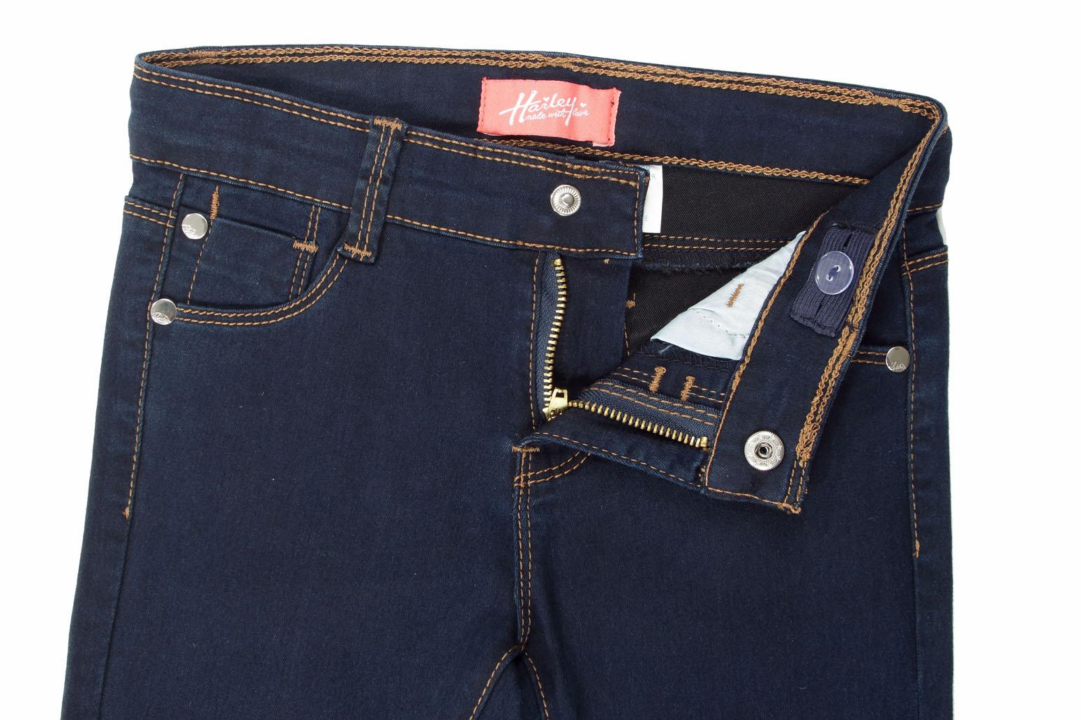9H023 Girls' Super Stretch 5 Pockets Skinny Jeans S