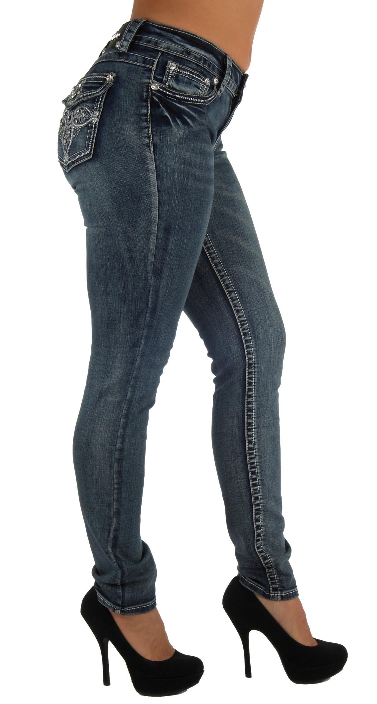 Vz6012 vivi diva premium denim embellished skinny leg jeans ebay - Diva pants ebay ...