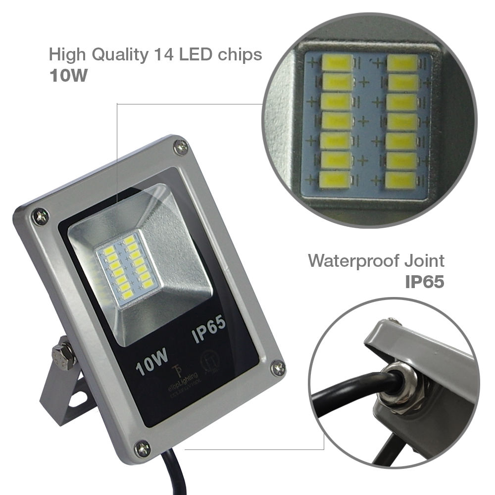 Landscape Flood Lights Spotlights: BEST QUALITY10W LED Flood Light Outdoor Landscape Lamp