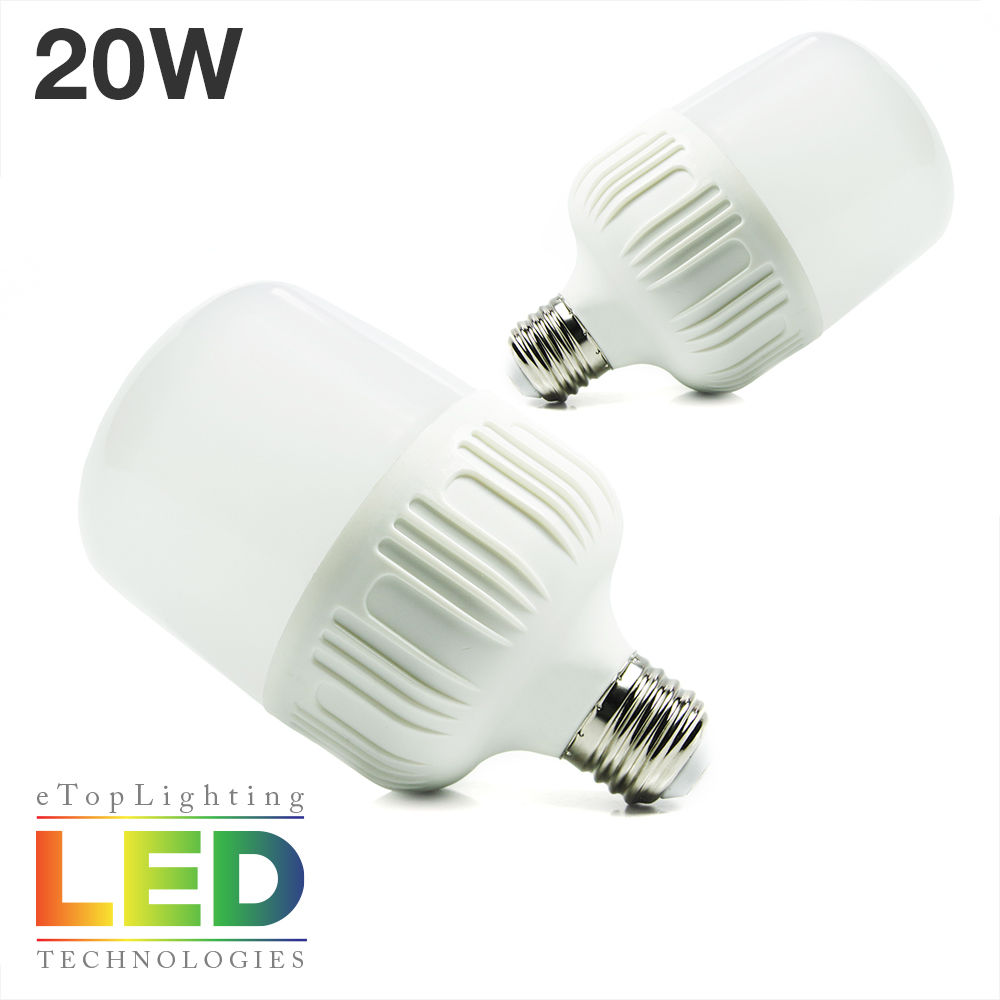 Led Energy Saving Bulb 6500k 20w Led Light Bulb With Edison E26 E27 Base Utility Ebay