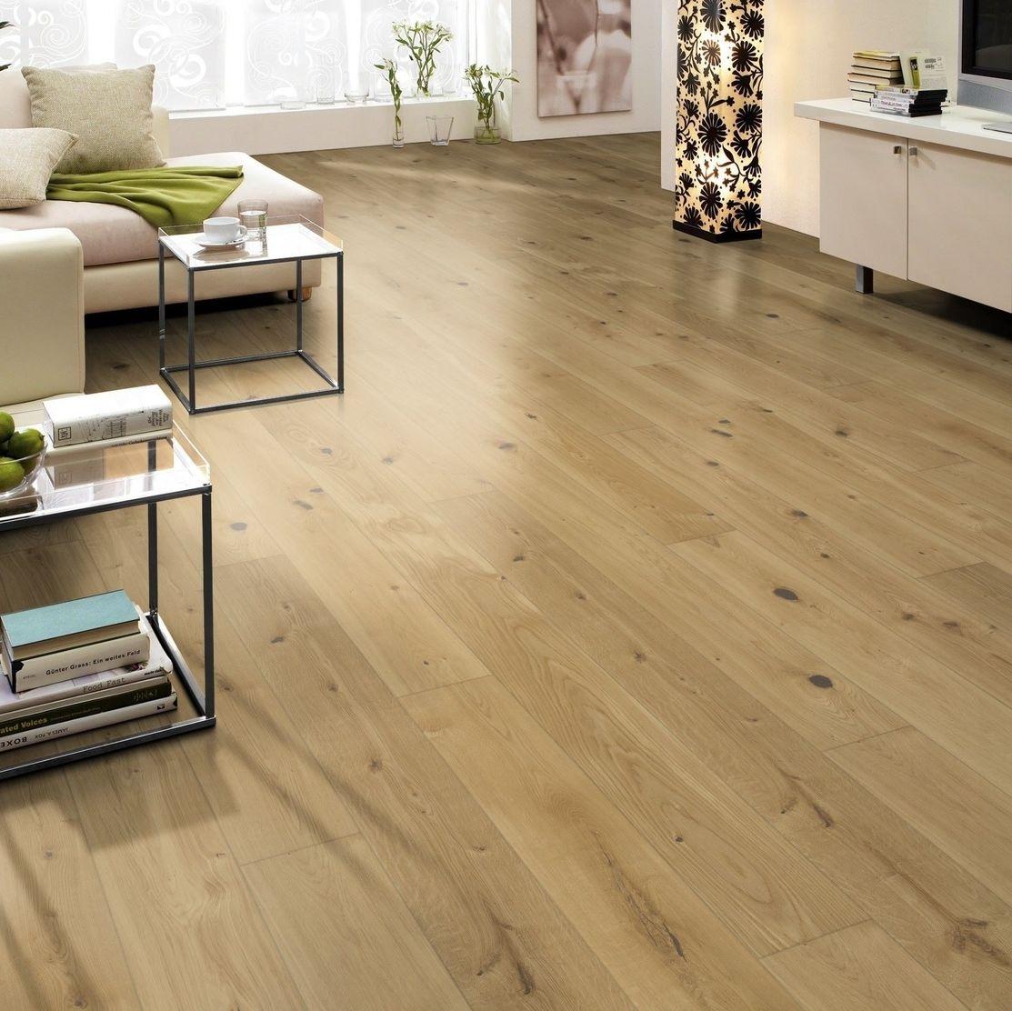 hori parkett 300 eiche cottage landhausdiele 1 stab mit fase versiegelt. Black Bedroom Furniture Sets. Home Design Ideas