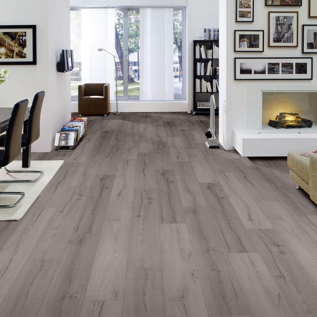 hori klick laminat ambiente eiche country mit fase landhausdiele d mmung leisten ebay. Black Bedroom Furniture Sets. Home Design Ideas