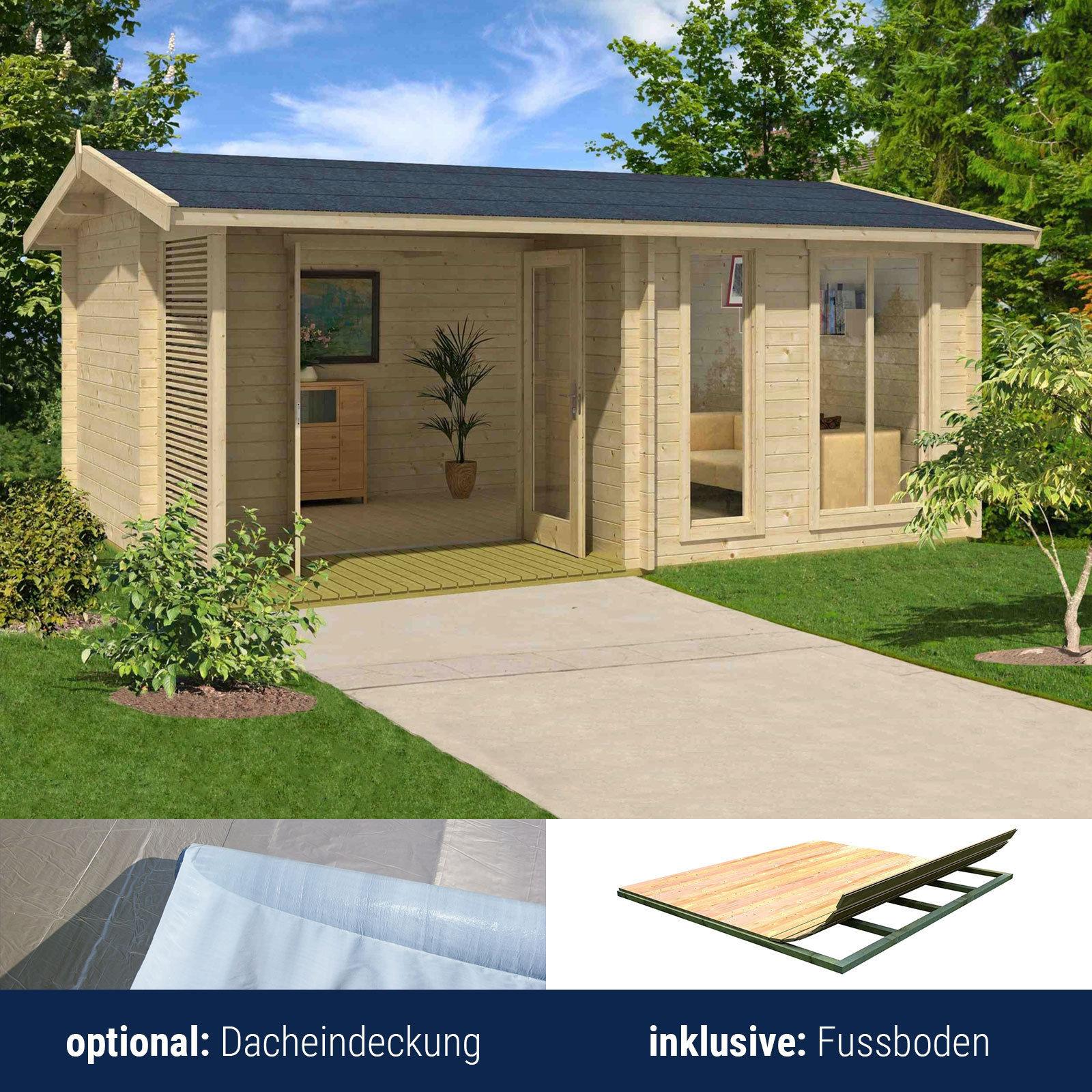 lasita maja gartenhaus holzhaus ger tehaus brighton 44. Black Bedroom Furniture Sets. Home Design Ideas