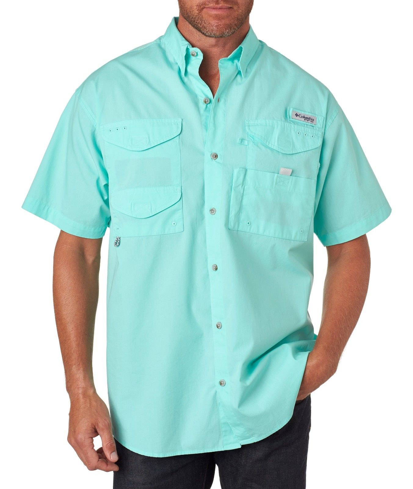 Columbia men 39 s bonehead short sleeve shirt for Columbia bonehead fishing shirt