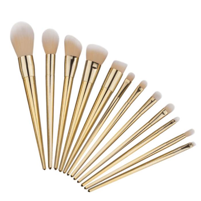 12tlg professionelle makeup brushes set eyeshadow. Black Bedroom Furniture Sets. Home Design Ideas