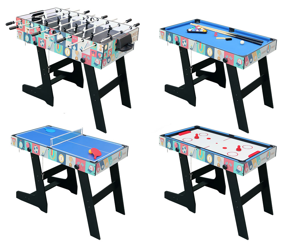 Image Is Loading 4ft Multi Game Table 4 In 1 Pool