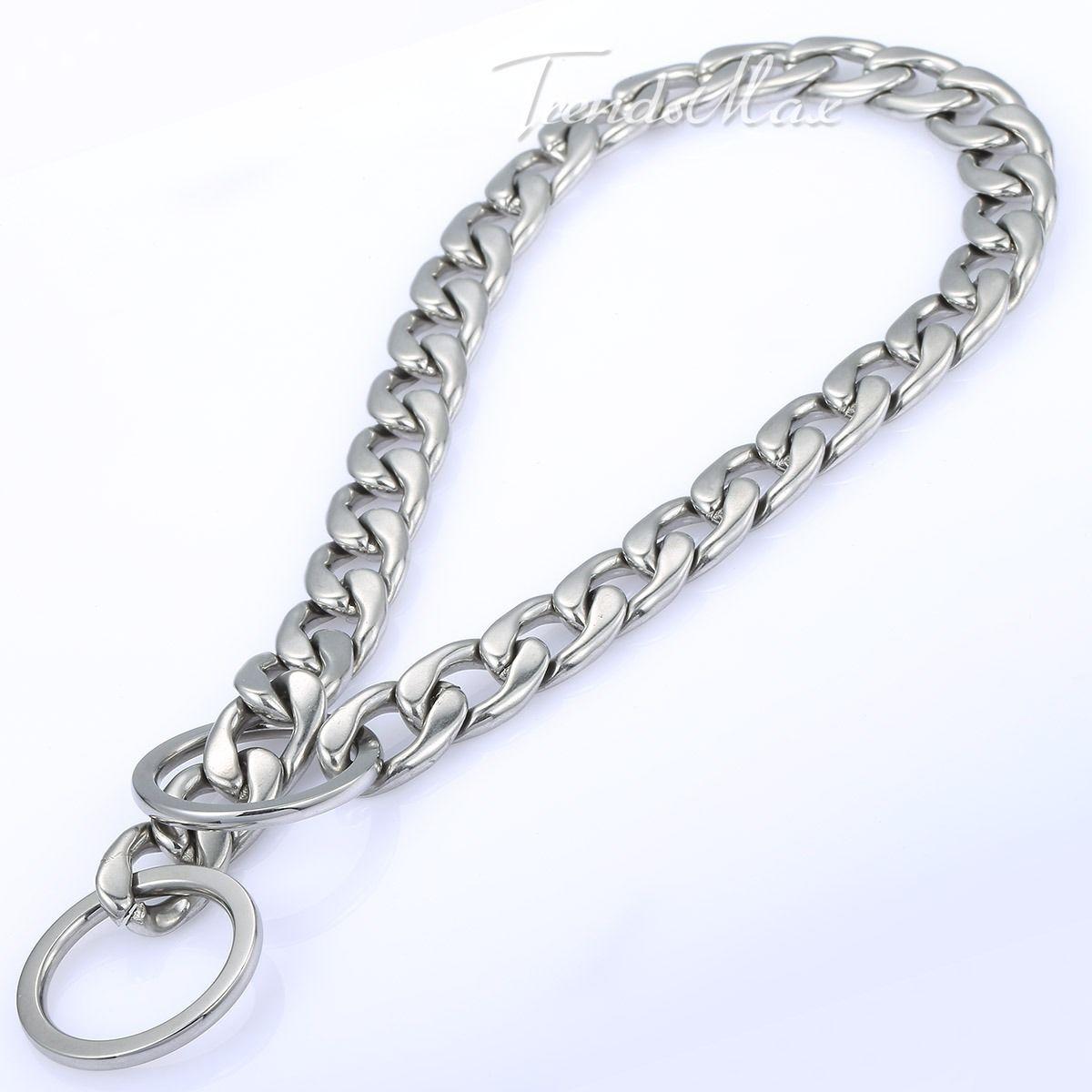 Curb Link Dog Collar
