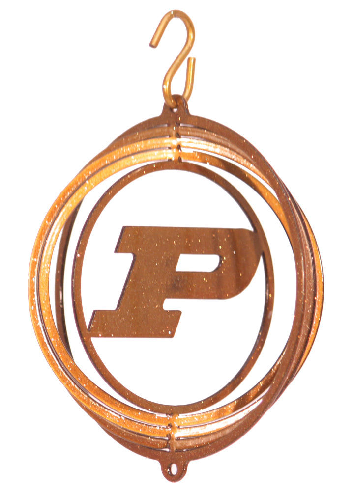 SWEN-Products-PURDUE-BOILERMAKERS-BLACK-Tini-Swirly-Christmas-Tree-Ornament