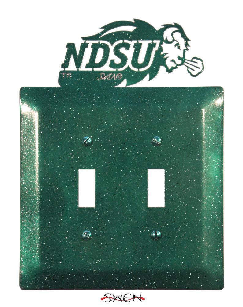 Swen Products North Dakota State Ndsu Bison Light Switch