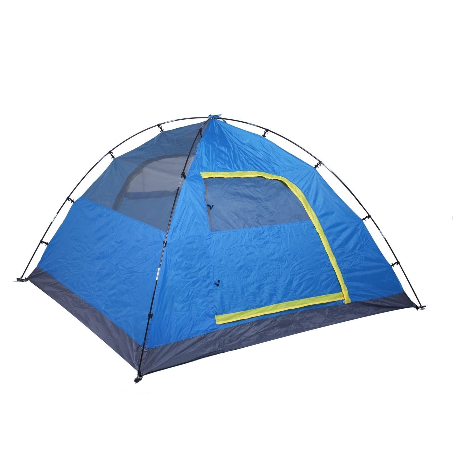 3-4 Person Auto Pop-up Camping Tent Outdoor Picnic Hiking ...