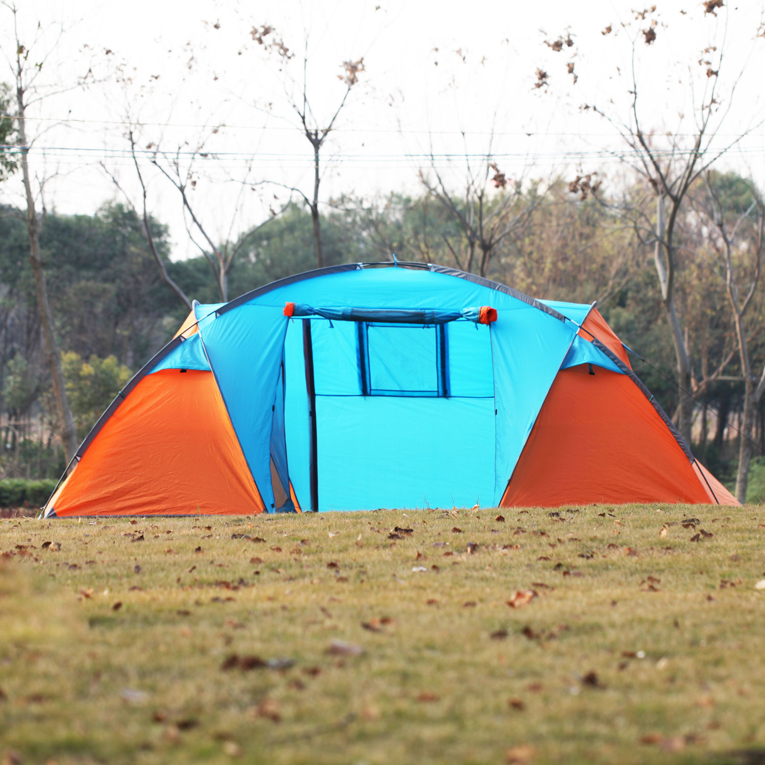 3-4 Person Instant Cabin Camping Tent HikingTraveling Easy ...