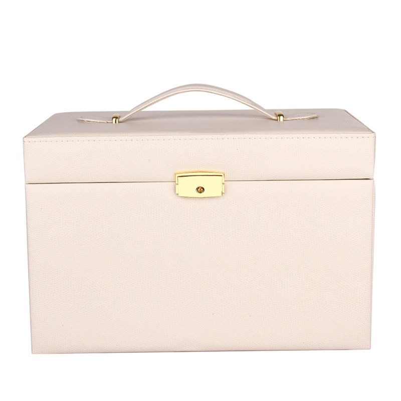 Extra Large Jewelry Box Chest Watch Storage Case Armoire 3 ...