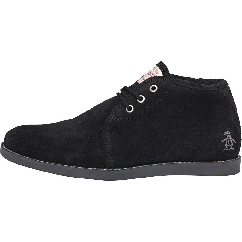 Mens Original Penguin Shoes Lawyer Suede Lace Up Chukka Boots ...