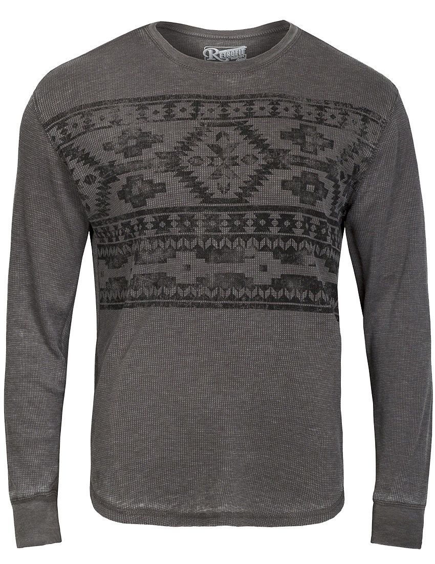 Mens long sleeve t shirt casual graphic print crew neck for Graphic print t shirts