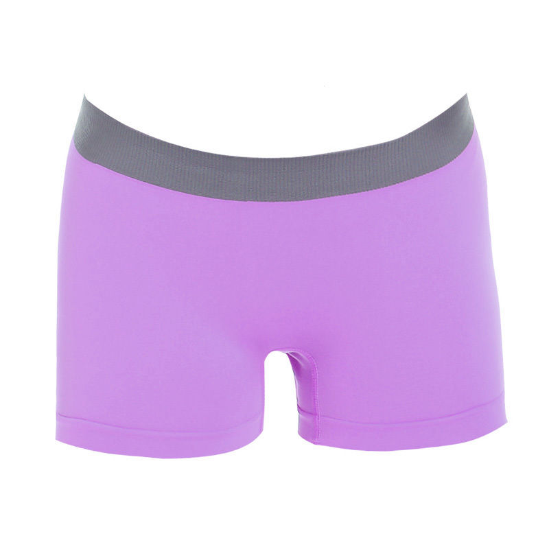 Women Girls Yoga Training Boxer Shorts Panties Intimates