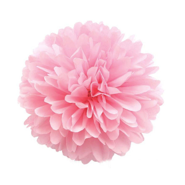 5 pompoms seidenpapier pom poms papier blumen h ngedekoration hochzeit ebay. Black Bedroom Furniture Sets. Home Design Ideas