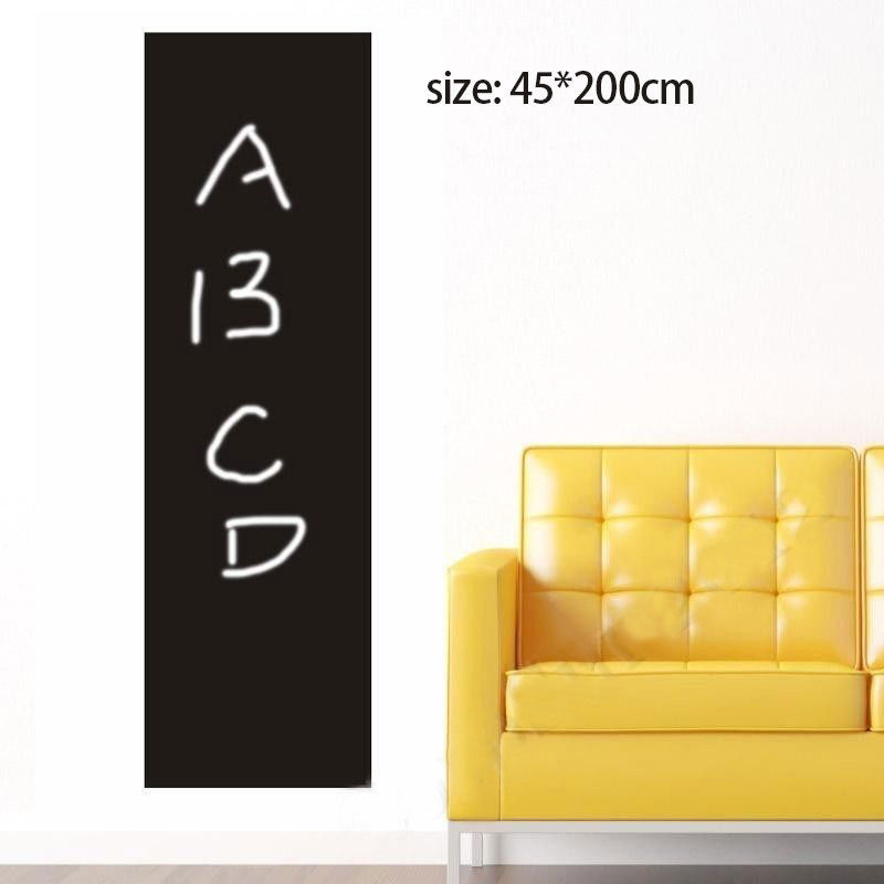 Blackboard Wall Sticker Large Removable Chalkboard Home ...