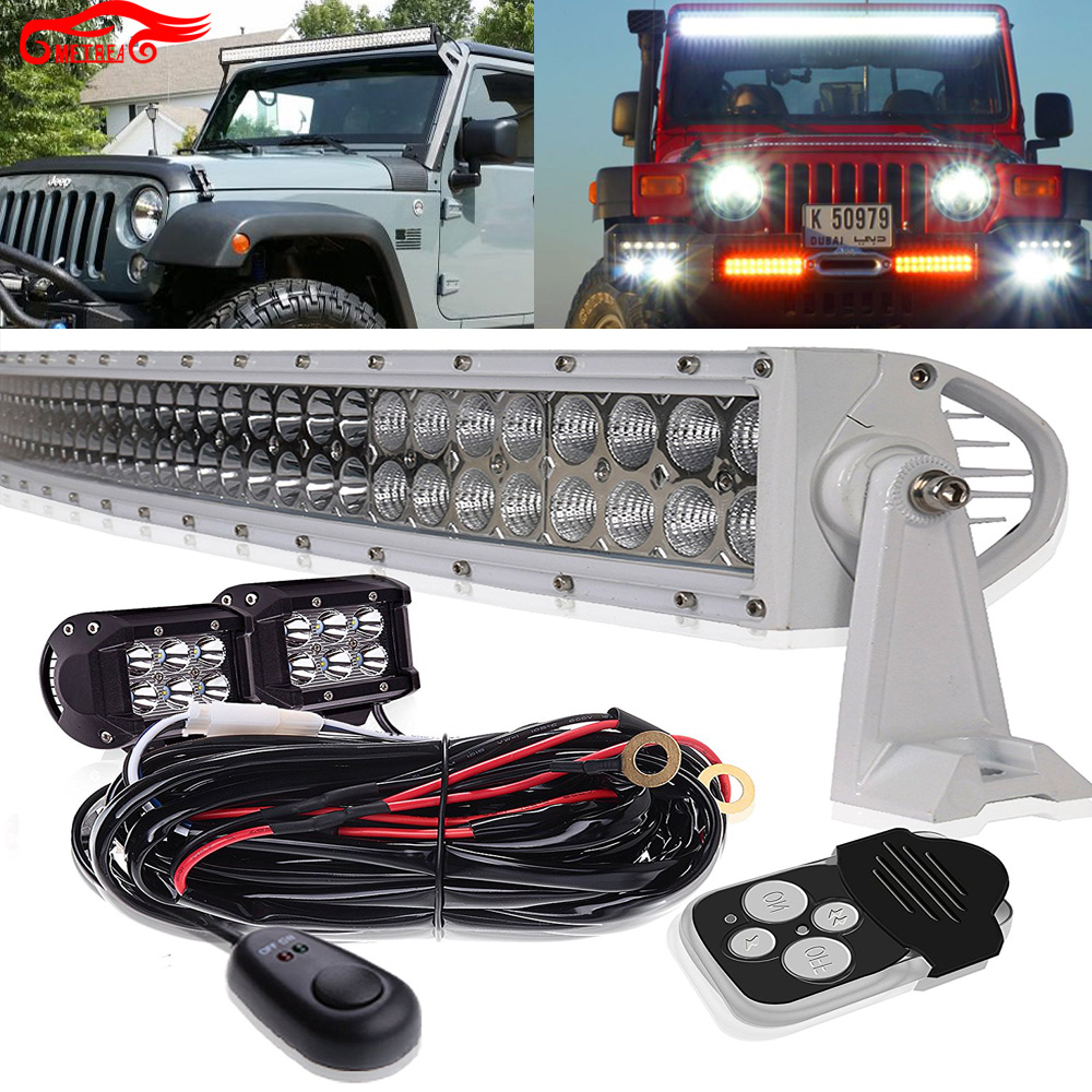 50inch white led light bar for 4wd 4x4 boat chevrolet express 1500 50inch white led light bar for 4wd 4x4 mozeypictures Choice Image