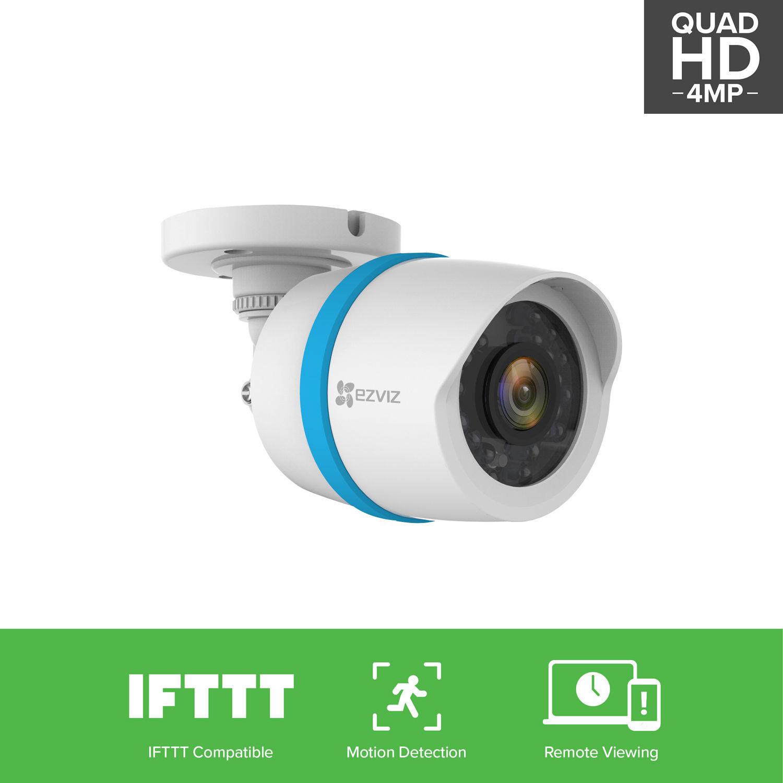 EZVIZ 4MP HD IP Security Camera PoE Network Video Surveillance BC ...