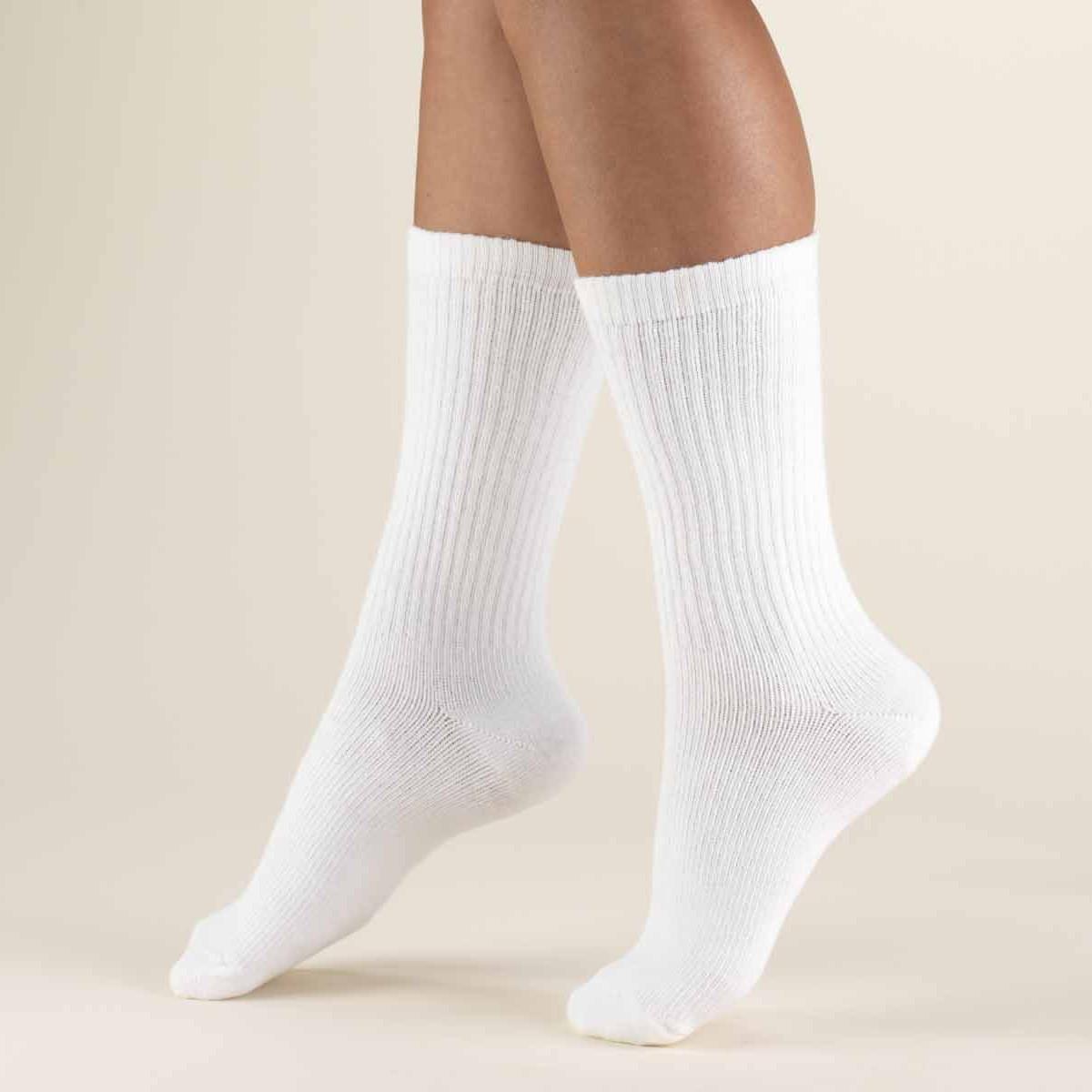 Bulk Wholesale Packs 60 Pairs Men or Women Classic and Athletic Crew Socks