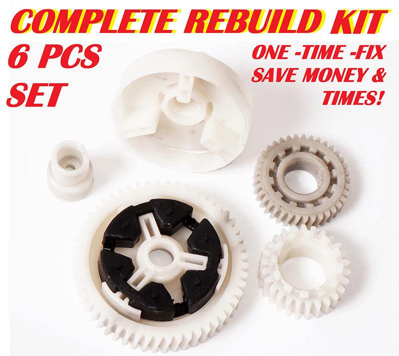 For Mazda 3 5 6 C-X7 CX-9 RX8 Power Window Motor Gear Regulator RK1010 6 PCS