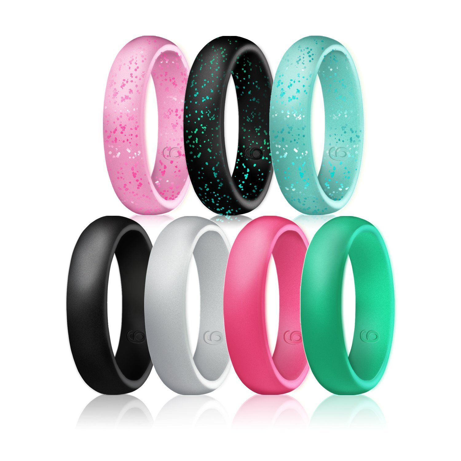 Inspirational Silicone Wedding Ring Glow In the Dark | Wedding
