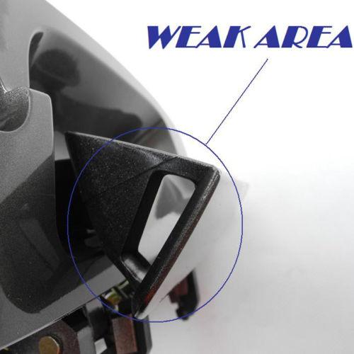 For 02-06 Nissan Altima 2.5L 3.5L Rear Left NoMoreBreaking Outside Door Handle