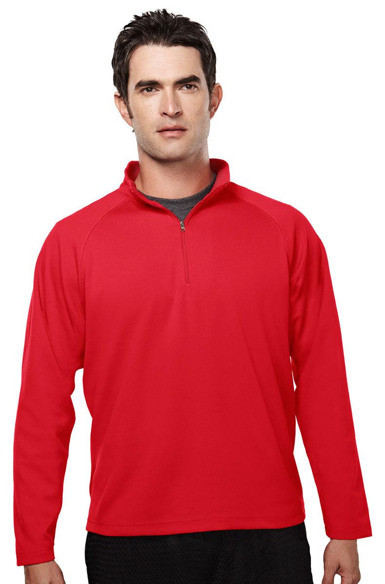 655-Tall Tri-Mountain Men/'s Big And Tall 1//4 Zipper UltraCool Pullover Shirt