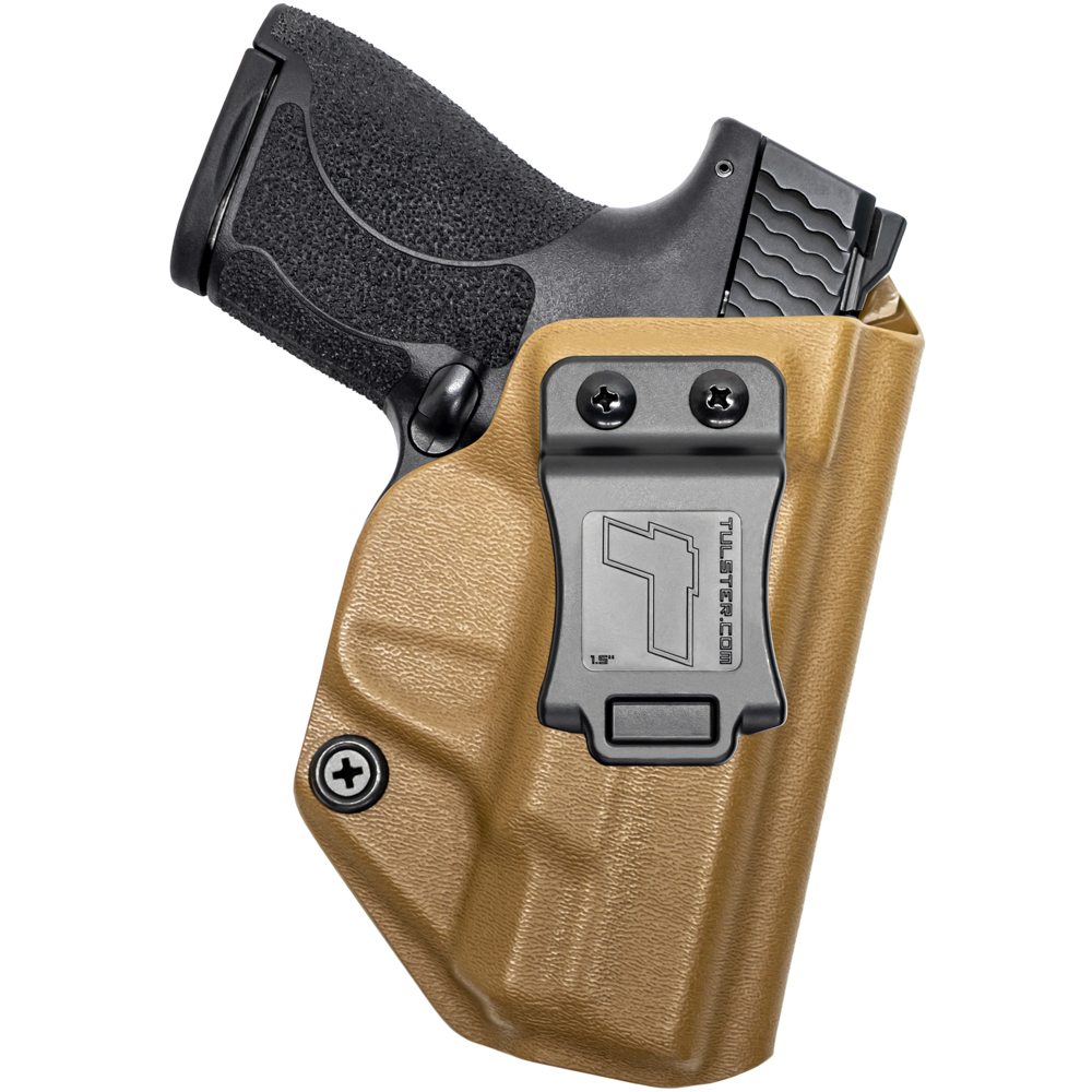 Right Hand NEW Tulster Profile IWB//AIWB Holster S/&W M/&P Shield 9mm//.40