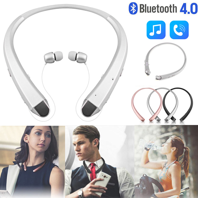 Bluetooth Headset Sport Stereo Wireless Headphones Earphones for iPhone Samsung