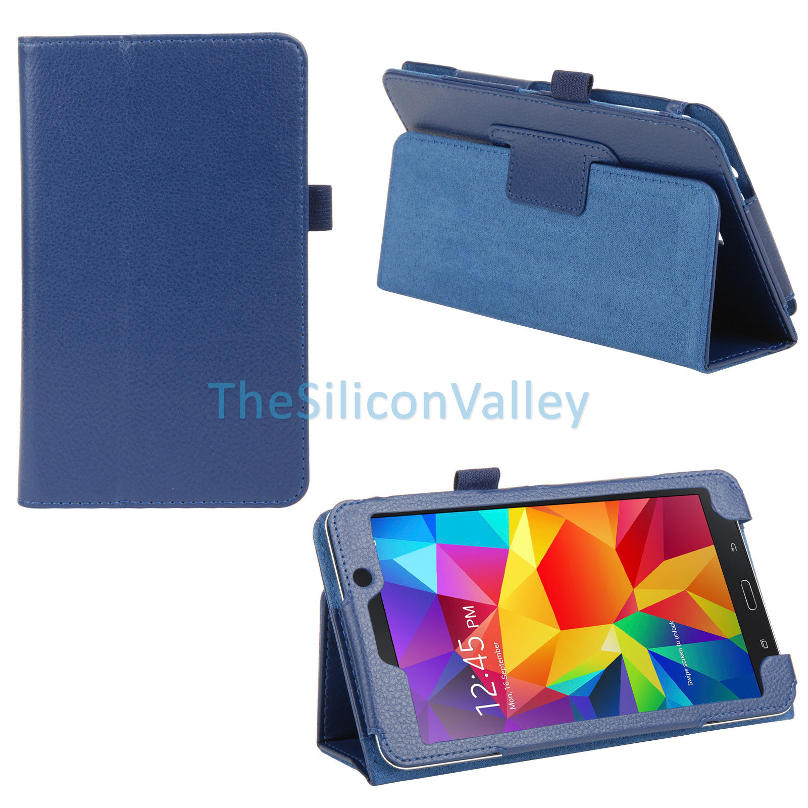 Folio Leather Case Cover Stand For Samsung Galaxy Tab 4 7.0 Tablet SMT230NU T237