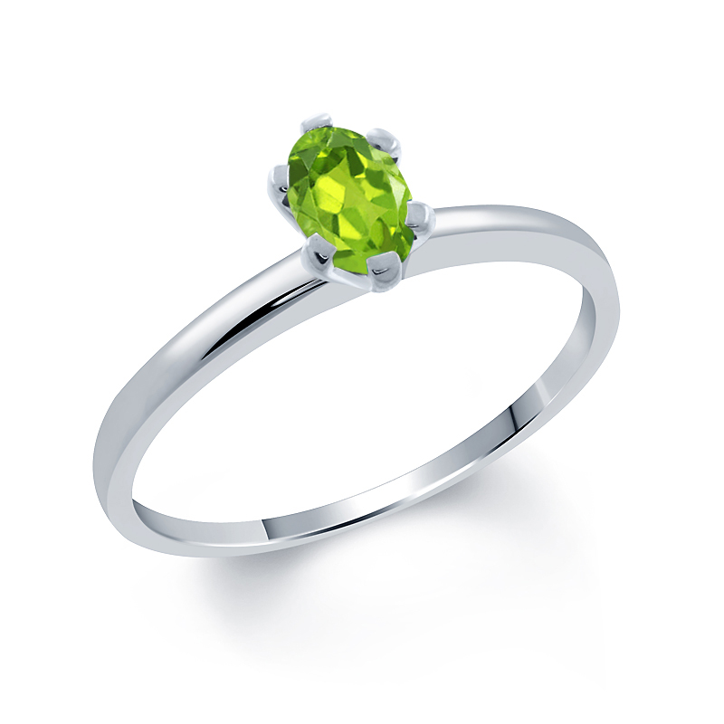 1 50 ct green peridot yellow sapphire 925 sterling