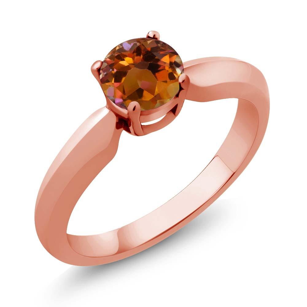 Orange Mystic Topaz Rings