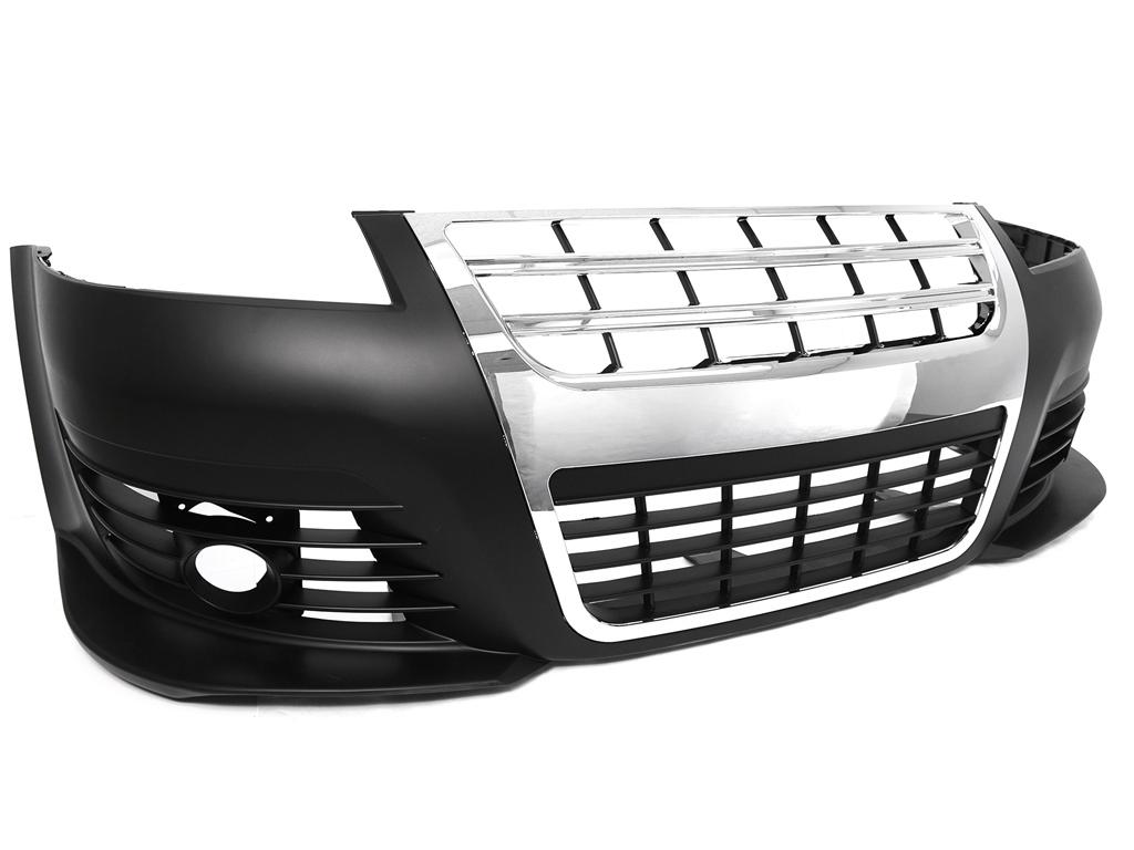 01 05 vw passat b5 5 r36 look front bumper w chrome. Black Bedroom Furniture Sets. Home Design Ideas