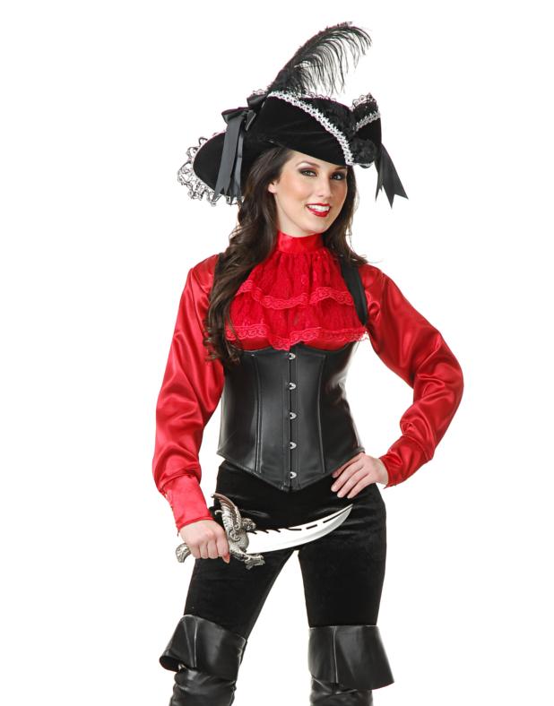 Womens Pirate Blouse