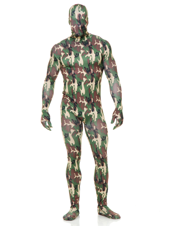 Charades Costumes Camo Bodysuit at Sears.com
