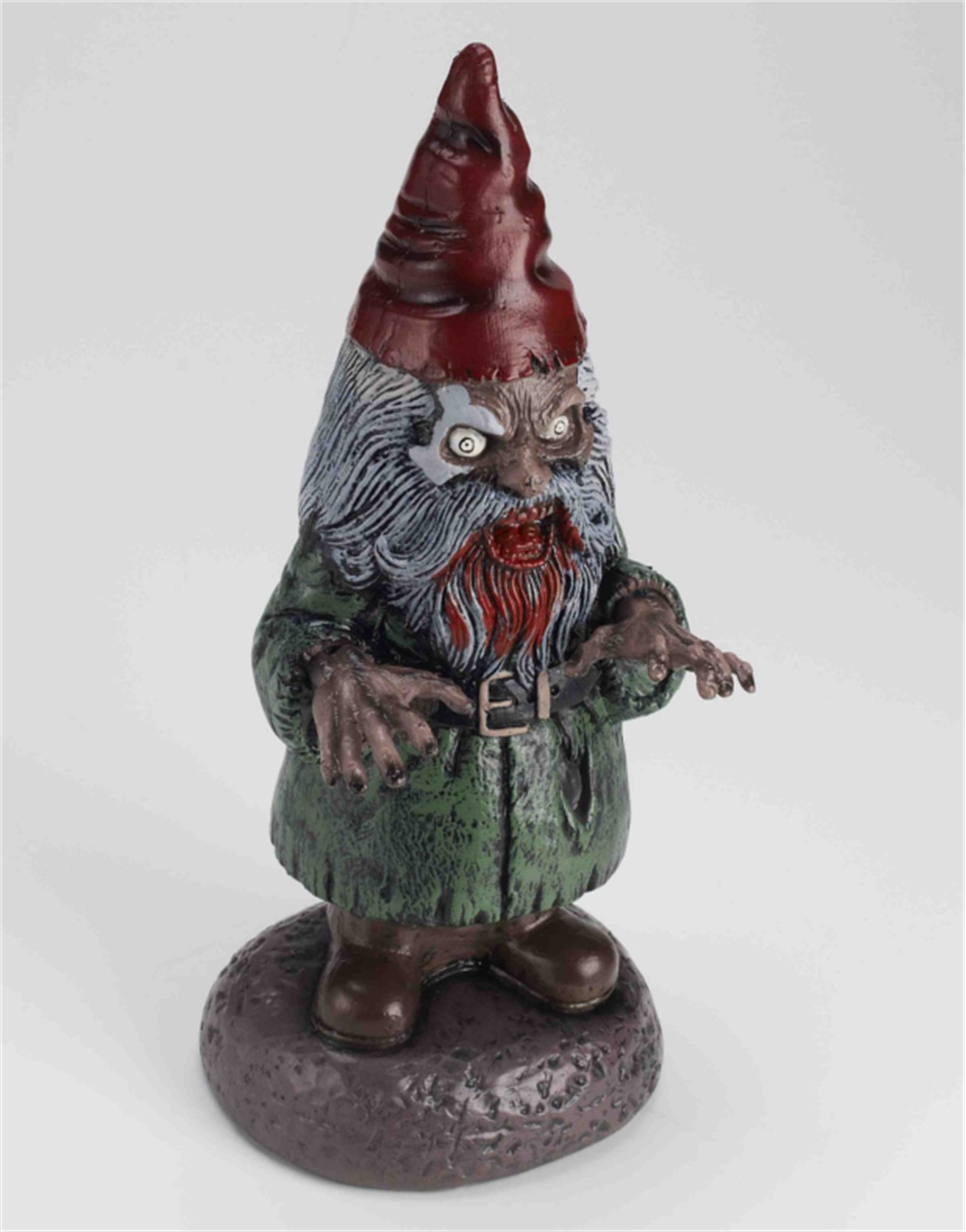 17 zombie garden gnome halloween decoration yard ornament ebay for Gnome 3 decoration fenetre