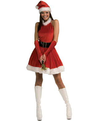Rubie's Costume Co Adult Sexy Santa's Inspiration Mrs. Claus Costume at Sears.com