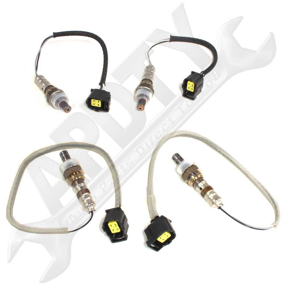 O2 Sensor Gas Mileage: 2003-2004 Dodge Ram Pickup 5.7L Hemi O2/Oxygen Sensor Set