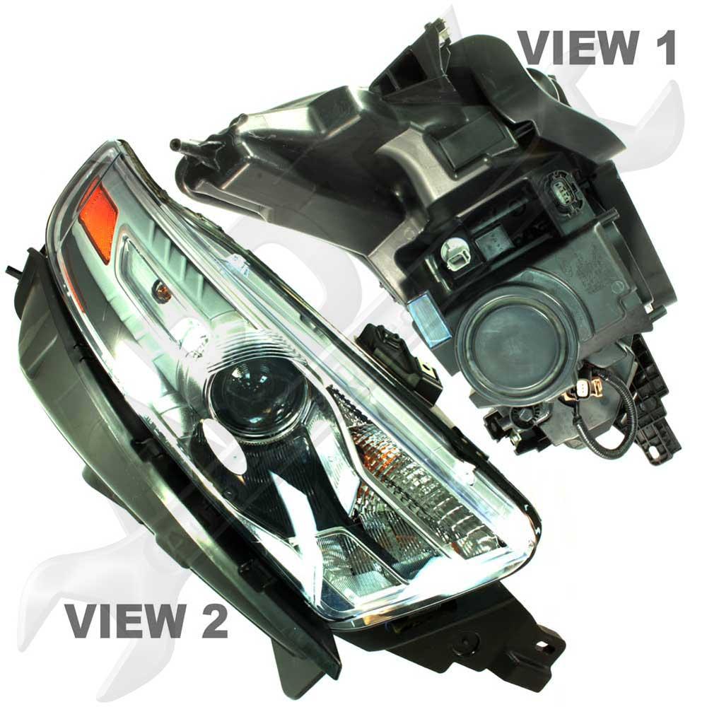 Ford Taurus Headlight Assembly : Ford taurus halogen projector headlight headlamp