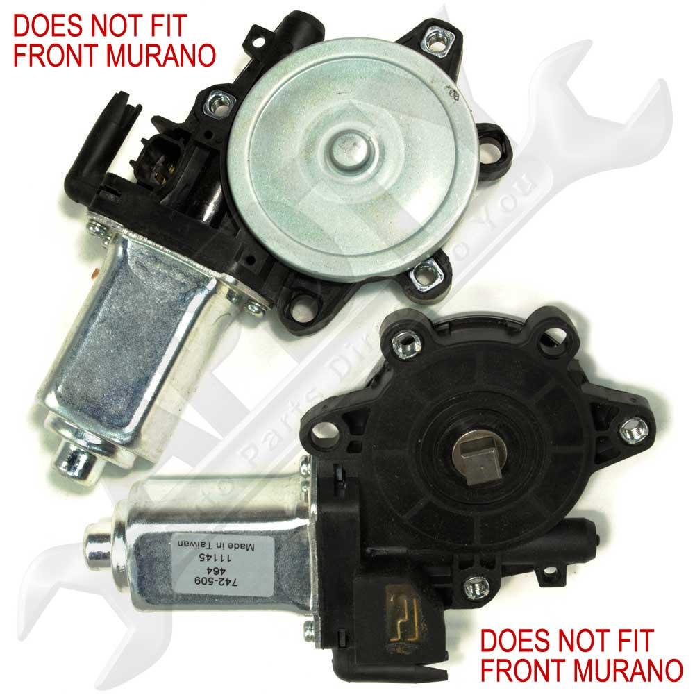 Apdty 853610 power window motor fits nissan vehicles left for 2006 nissan frontier window motor