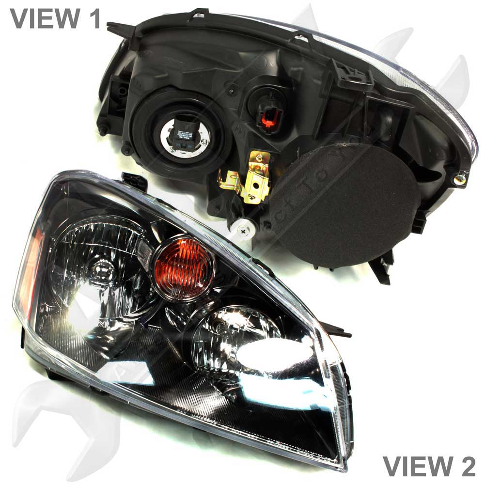 Headlights For 2006 Nissan Altima: APDTY Headlight Headlamp Assembly Fits 2005-2006 Nissan