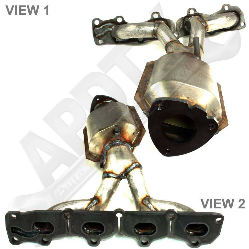 Apdty 12618544 Exhaust Manifold Amp Catalytic Converter For